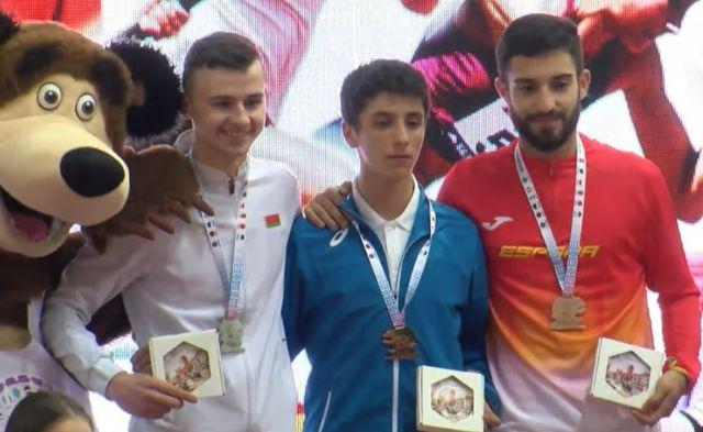 Pedro Conesa repite podio en Minsk - 1, Foto 1
