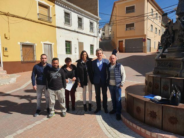 Fomento destinará 100.000 euros a la mejora de la seguridad de la vía regional que discurre por las pedanías de Benizar, Otos y Mazuza - 1, Foto 1
