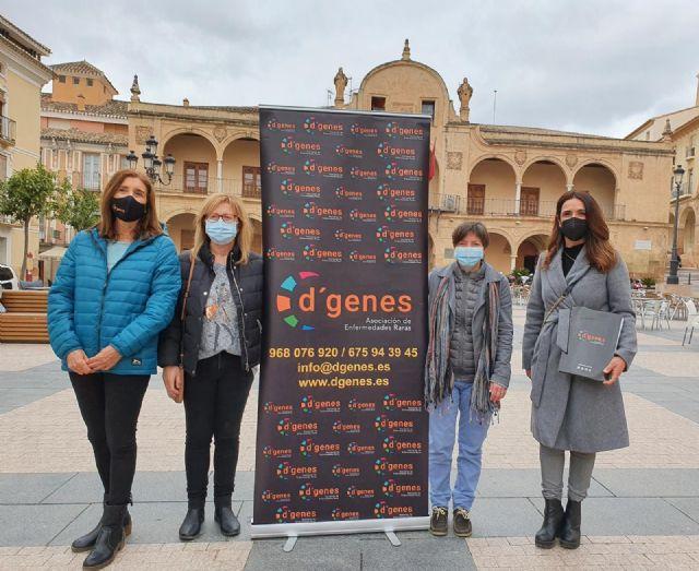La fachada del Ayuntamiento de Lorca se iluminará de verde el próximo domingo, 28 de febrero, para conmemorar el Día Mundial de las Enfermedades Raras - 1, Foto 1