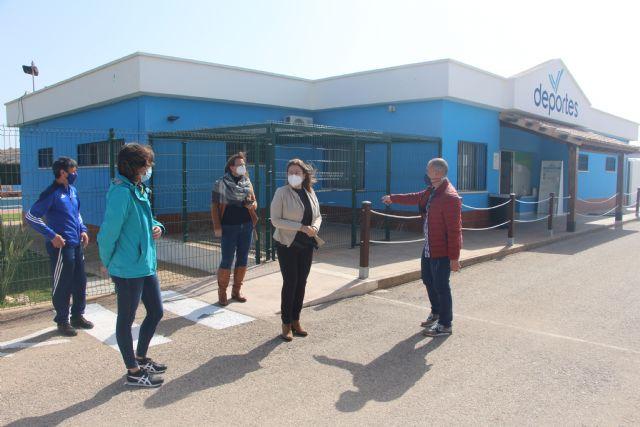 El Polideportivo municipal mejora la accesibilidad y refuerza  las medidas de seguridad  por el COVID19 - 2, Foto 2