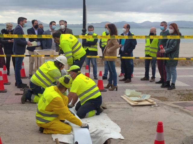 Comienzan las obras de reparación de colectores de saneamiento para evitar posibles vertidos al Mar Menor - 1, Foto 1