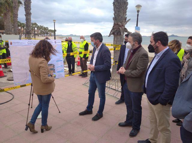 Comienzan las obras de reparación de colectores de saneamiento para evitar posibles vertidos al Mar Menor - 2, Foto 2