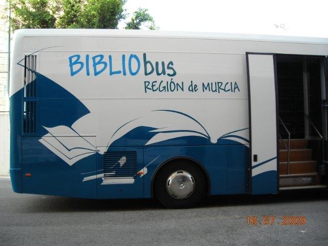 El servicio de los bibliobuses se retoma en las pedanías totaneras de El Paretón y Lébor a partir del próximo mes de marzo