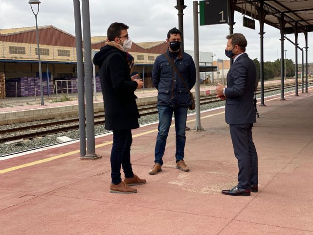 La rehabilitación del entorno y la estación de Torre Pacheco costará casi un millón de euros - 1, Foto 1