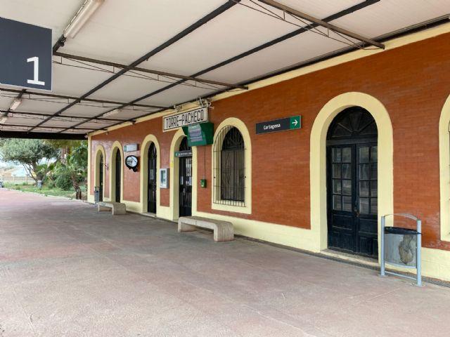 La rehabilitación del entorno y la estación de Torre Pacheco costará casi un millón de euros - 4, Foto 4