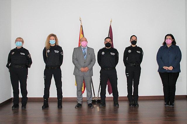 El alcalde preside la toma de posesión de tres nuevos agentes de la Policía Local - 1, Foto 1