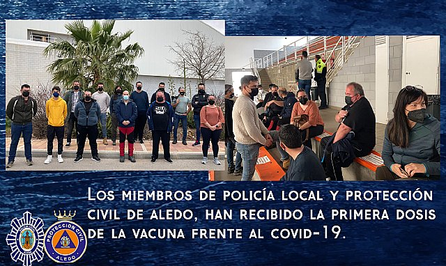 Policía Local y Protección Civil reciben la primera dosis de la vacuna frente al Covid-19 - 1, Foto 1