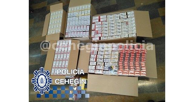 La Policía Local de Cehegín desarticula una organización dedicada a la distribución ilegal de tabaco - 1, Foto 1