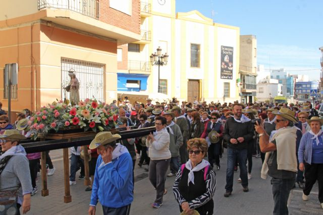 Puerto Lumbreras reúne a un millar de personas en la Romería en honor a la Virgen del Carmen - 1, Foto 1
