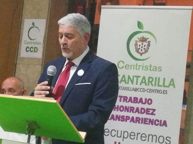 Alcantarilla en el Centro. Centristas CCD presentó a Francisco Castillo para alcalde de Alcantarilla - 2, Foto 2