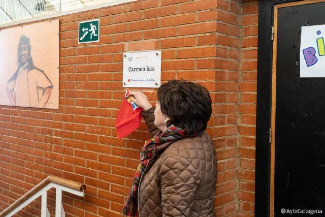 La biblioteca del IES Politécnico rinde homenaje a la profesora Carmen Ros - 1, Foto 1