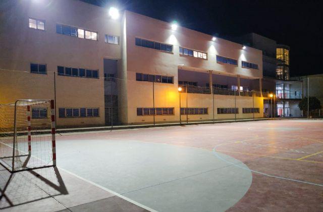 La Universidad de Murcia instala iluminación de bajo consumo en el Campus de Ciencias del Deporte de San Javier - 1, Foto 1
