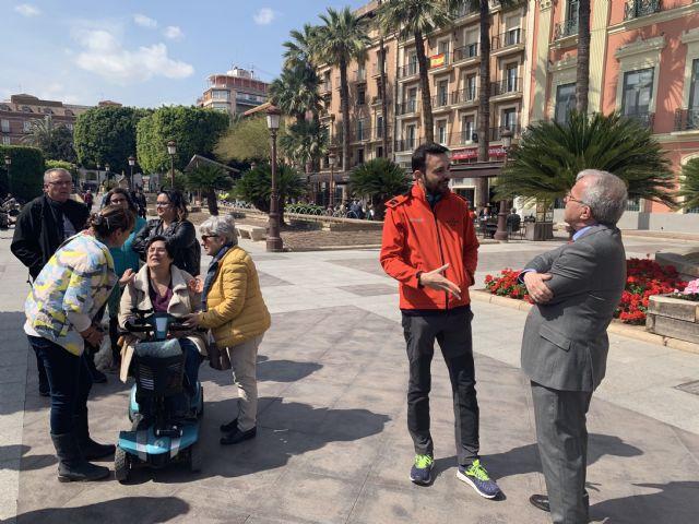 ´The low battery man´ visita Murcia para visibilizar la enfermedad de Encefalomielitis Miálgica - 1, Foto 1