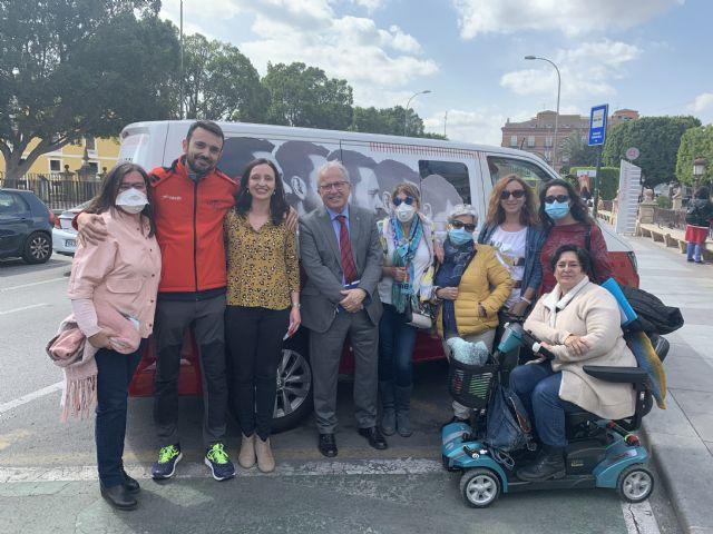 ´The low battery man´ visita Murcia para visibilizar la enfermedad de Encefalomielitis Miálgica - 2, Foto 2