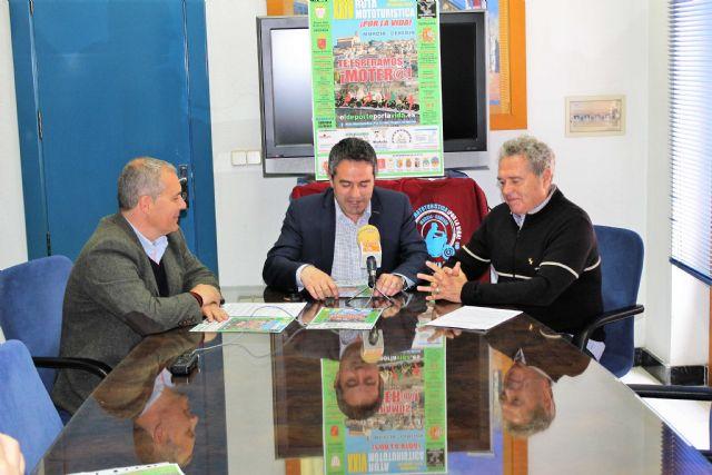 La Ruta Mototurística ¡Por la Vida! en su veinticuatro edición pasará por Alcantarilla, hoy se presentó en el Ayuntamiento - 3, Foto 3