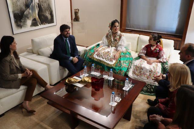 Fernando López Miras recibe a la Reina de la Huerta 2019 y a la Reina de la Huerta Infantil - 3, Foto 3