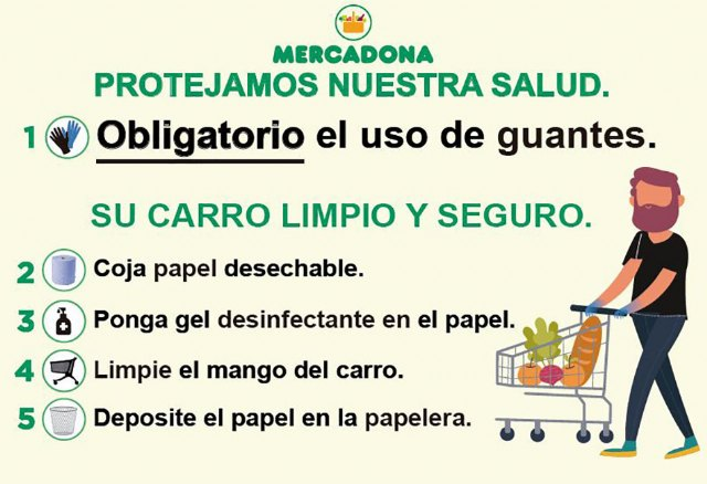 Mercadona dará prioridad a personal sanitario, fuerzas de seguridad, bomberos y personal de atención social - 3, Foto 3