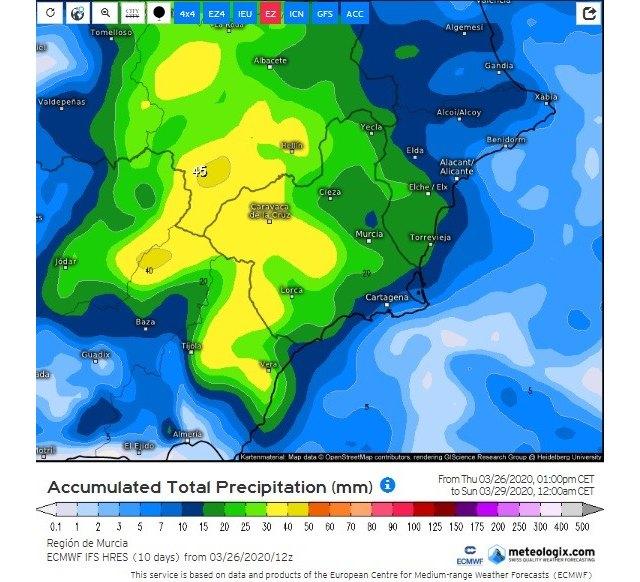 Un nuevo empeoramiento del tiempo nos traerá lluvia y frío - 2, Foto 2