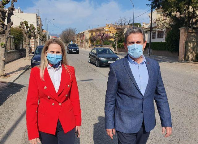 La Comunidad invertirá 245.800 euros en mejorar la seguridad vial de la travesía de Cehegín - 1, Foto 1
