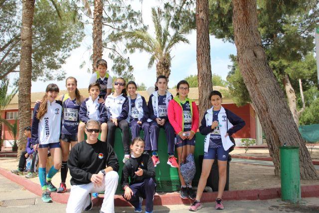 Destacada actuación del Club Atletismo Mazarrón en las pruebas clasificatorias celebradas en Alhama, Foto 1