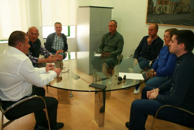 The mayor meets with the new Board of Directors of the agricultural trade union organization COAG-IR
