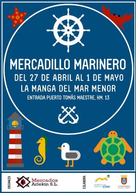 La Manga del Mar Menor estrena Mercadillo Marinero durante el puente festivo - 1, Foto 1