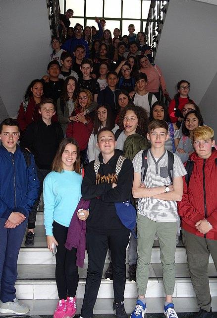 French students visited the IES Prado Mayor in a school exchange program, Foto 3