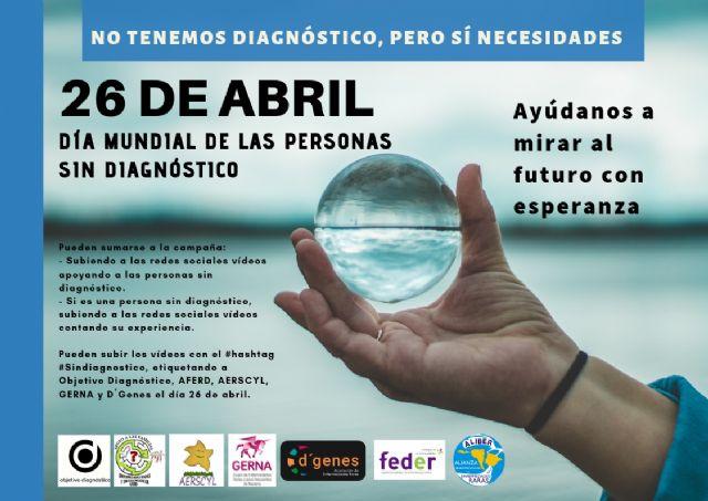 D´Genes, junto con otras organizaciones de pacientes, impulsa acciones conmemorativas con motivo del Día Mundial de las personas sin diagnóstico, que hoy se conmemora