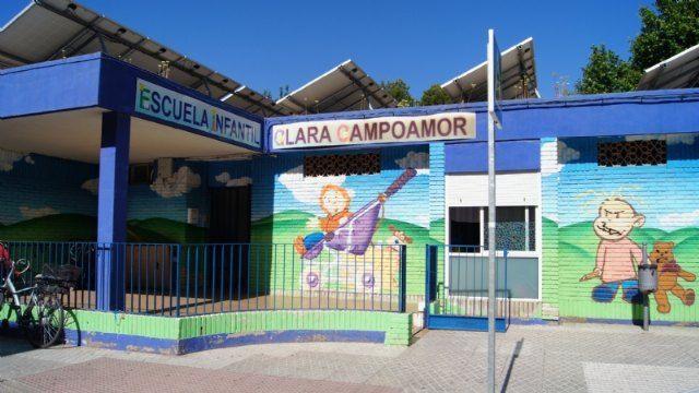 El próximo martes 30 de abril finaliza el plazo de solicitud para la admisión de alumnos en la Escuela Infantil Municipal