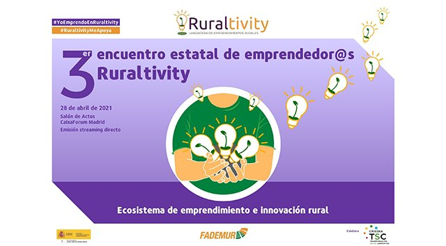 FADEMUR celebrará este miércoles el Encuentro Ruraltivity - 1, Foto 1