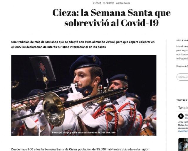 Gran repercusión internacional de la Semana Santa de Cieza - 2, Foto 2