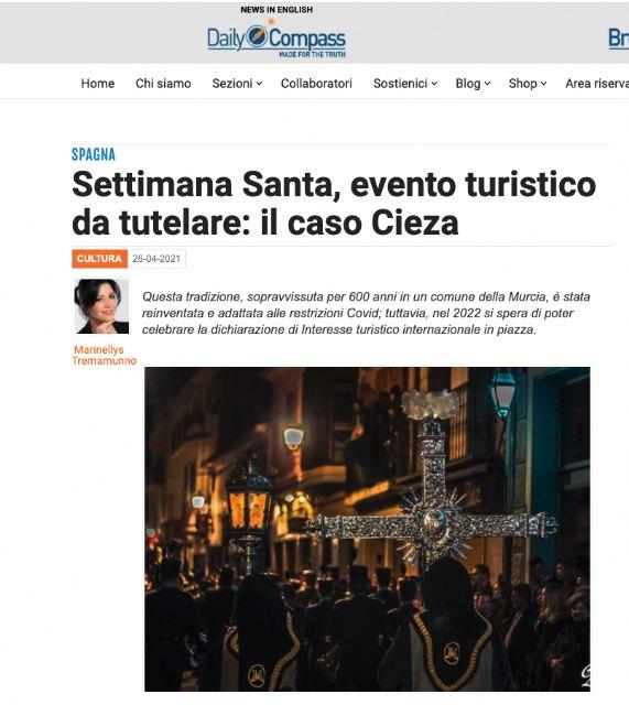 Gran repercusión internacional de la Semana Santa de Cieza - 4, Foto 4