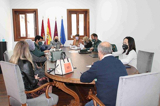 Reunión de la mesa de coordinación policial contra la violencia de género y doméstica del municipio de Cieza - 1, Foto 1