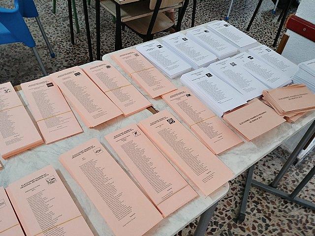 Arranca sin incidencias la jornada electoral en la Región de Murcia, Foto 1