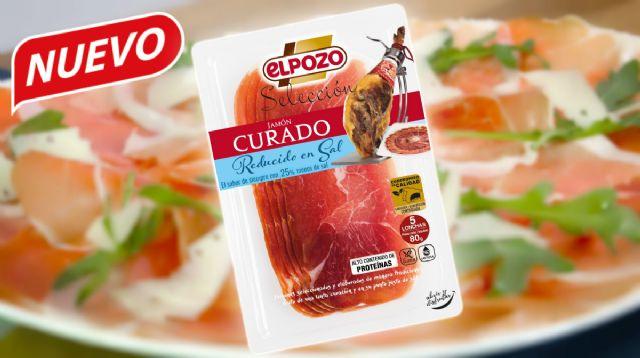 ElPozo Alimentación lanza su jamón curado lonchas reducido en sal - 1, Foto 1