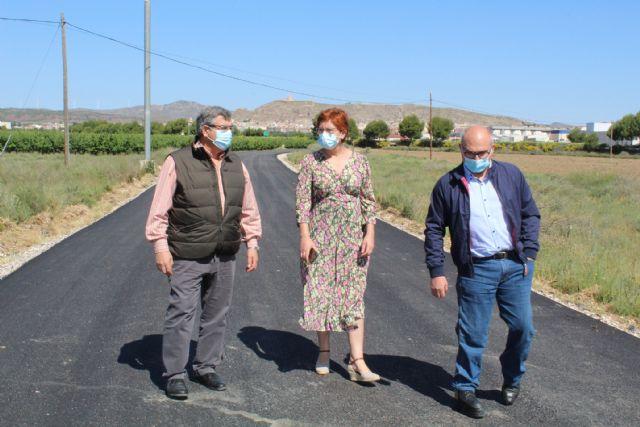 Finalizan las obras de asfaltado de los caminos de Murcia y El Prado - 2, Foto 2