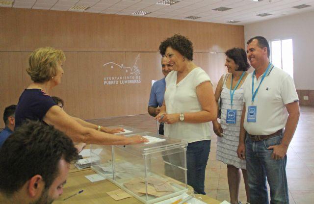 La alcaldesa de Puerto Lumbreras anima a los lumbrerenses a ejercer su derecho a voto en las Elecciones Generales - 1, Foto 1