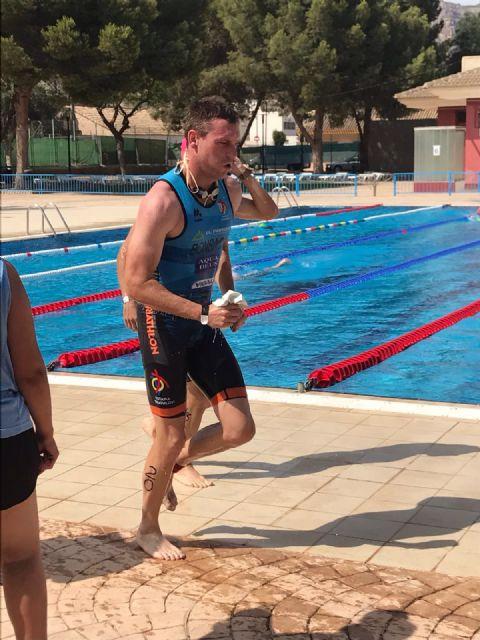El club Totana Triathlón participó en el triatlón popular y de la mujer villa de Alhama