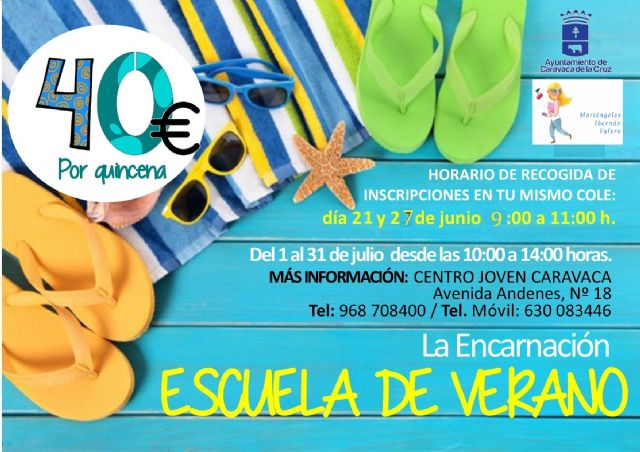 El Ayuntamiento de Caravaca oferta un programa de escuelas vacacionales de verano en el casco urbano, Barranda, Archivel y La Encarnación - 4, Foto 4