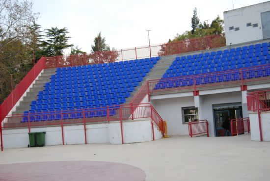 """The PSOE proposes to rehabilitate the seats of the stands of the """"Marcos Ortiz"""" Auditorium - 1"""
