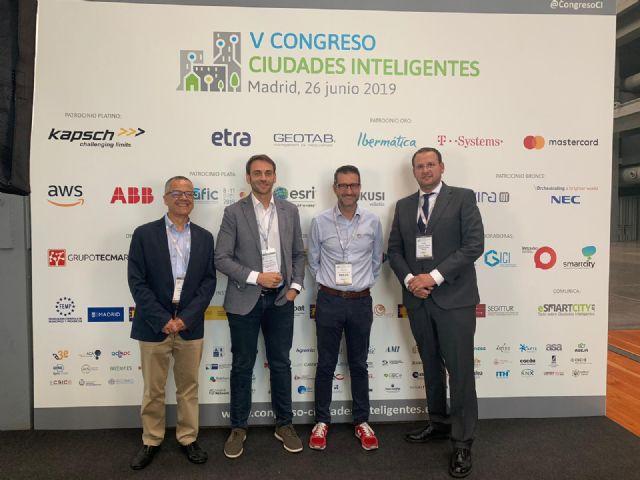 El proyecto Smart City, MiMurcia y su cerebro CEUS se presentan en el V Congreso de Ciudades Inteligentes - 1, Foto 1