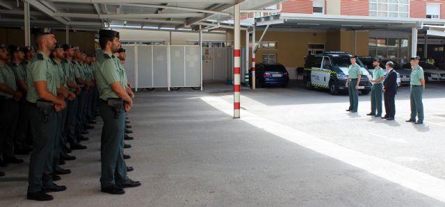 La Guardia Civil incorpora 95 nuevos efectivos a la Región de Murcia, Foto 1