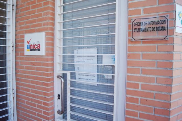 The Municipal Citizen Service Office in El Paretón will close during the months of July and August due to restructuring of the service