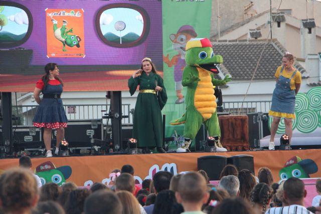 El mago 'Sim Saladín' de Drilo y su pandilla visita las fiestas de San Pedro del Pinatar - 1, Foto 1