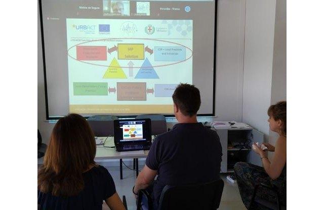 Última jornada del encuentro transnacional de apertura de la segunda fase del Proyecto Urbact CITIES4CSR - 1, Foto 1