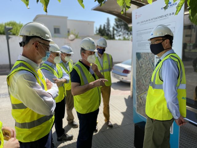 El Ayuntamiento destina más de 460.000 euros a la ampliación de la red de saneamiento de Sangonera La Seca - 2, Foto 2