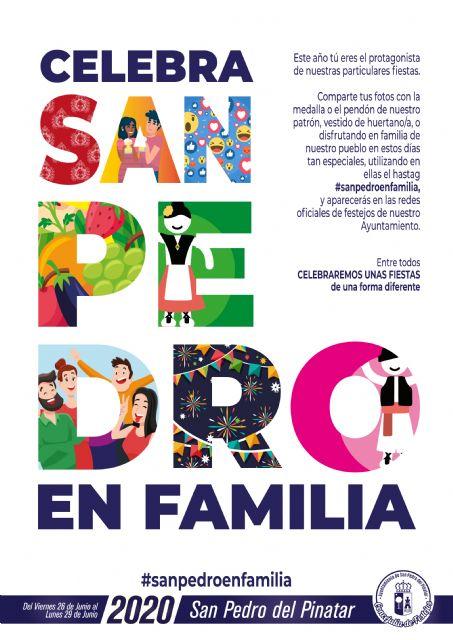 San Pedro del Pinatar anima a vivir las fiestas patronales en familia - 1, Foto 1
