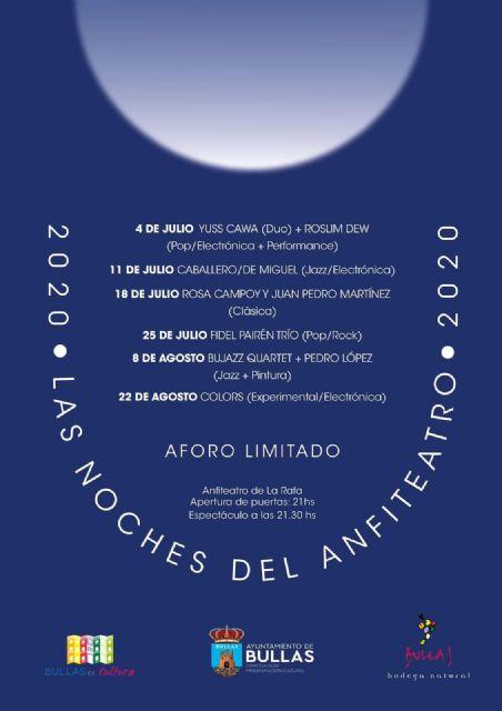 La Concejalía de Cultura propone para este verano ´Las noches del anfiteatro´ - 1, Foto 1
