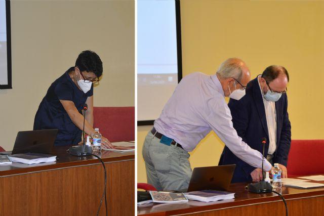 José Pérez Conesa y Esperanza Ruiz Rocamora toman posesión como vocales del Consejo Social de la UPCT - 1, Foto 1