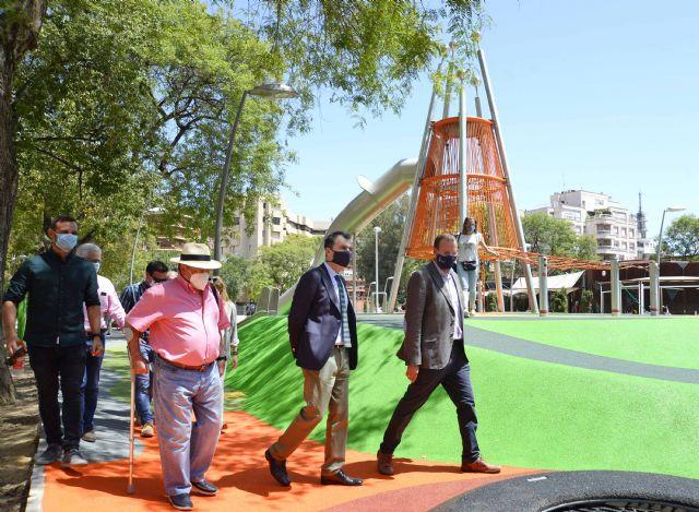 El Jardín de la Fama estrena dos zonas infantiles de 1.000 m2 que dan continuidad al eje peatonal de Alfonso X El Sabio - 1, Foto 1